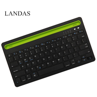 Landas Universal Wireless Bluetooth Keyboard For IPad Pro 10 5 Tablet Smart Phone Keyboard For IOS