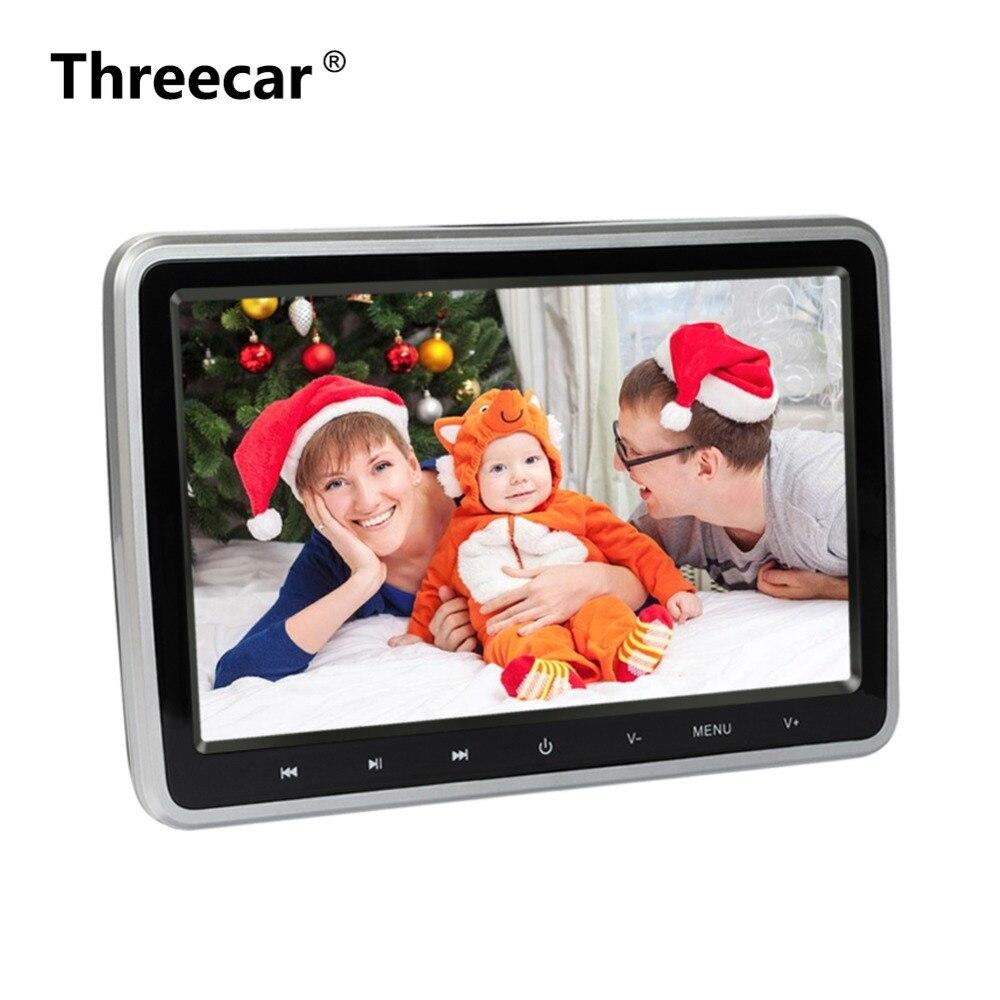 10 дюймов HDMI Мониторы S HD цифровой ЖК-дисплей Экран подголовник автомобиля Мониторы автомобиль аудио плеер FM подголовник автомобиля dvd-плеер рождественские подарки