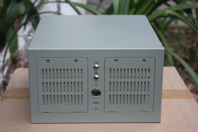 Wall mounted ITX computer case  CNC industrial small 4U measuring equipment industry shell