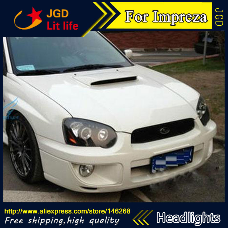 Auto Part Style Led Head Lamp For Subaru Impreza Wrx 2004 2005 2006 Headlights Drl Hid Bi Xenon Lens Low Beam In Car Light Embly From Automobiles