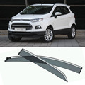 4pcs Blade Side Windows Deflectors Door Sun Visor Shield For Ford Ecosport 2013