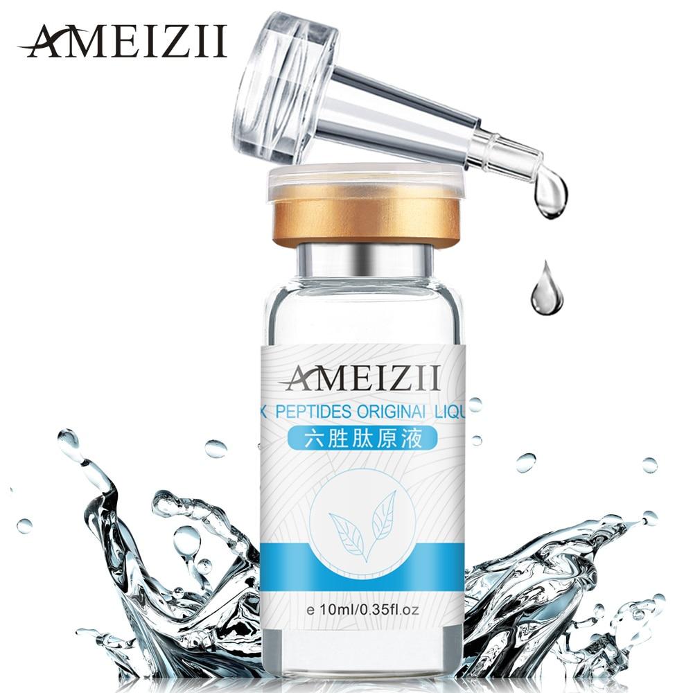 AMEIZII hat peptid szérum Eredeti folyékony nap Craems hidratáló szerek Anti-aging fehérítő fiatalító arc emelő bőrápoló szépség