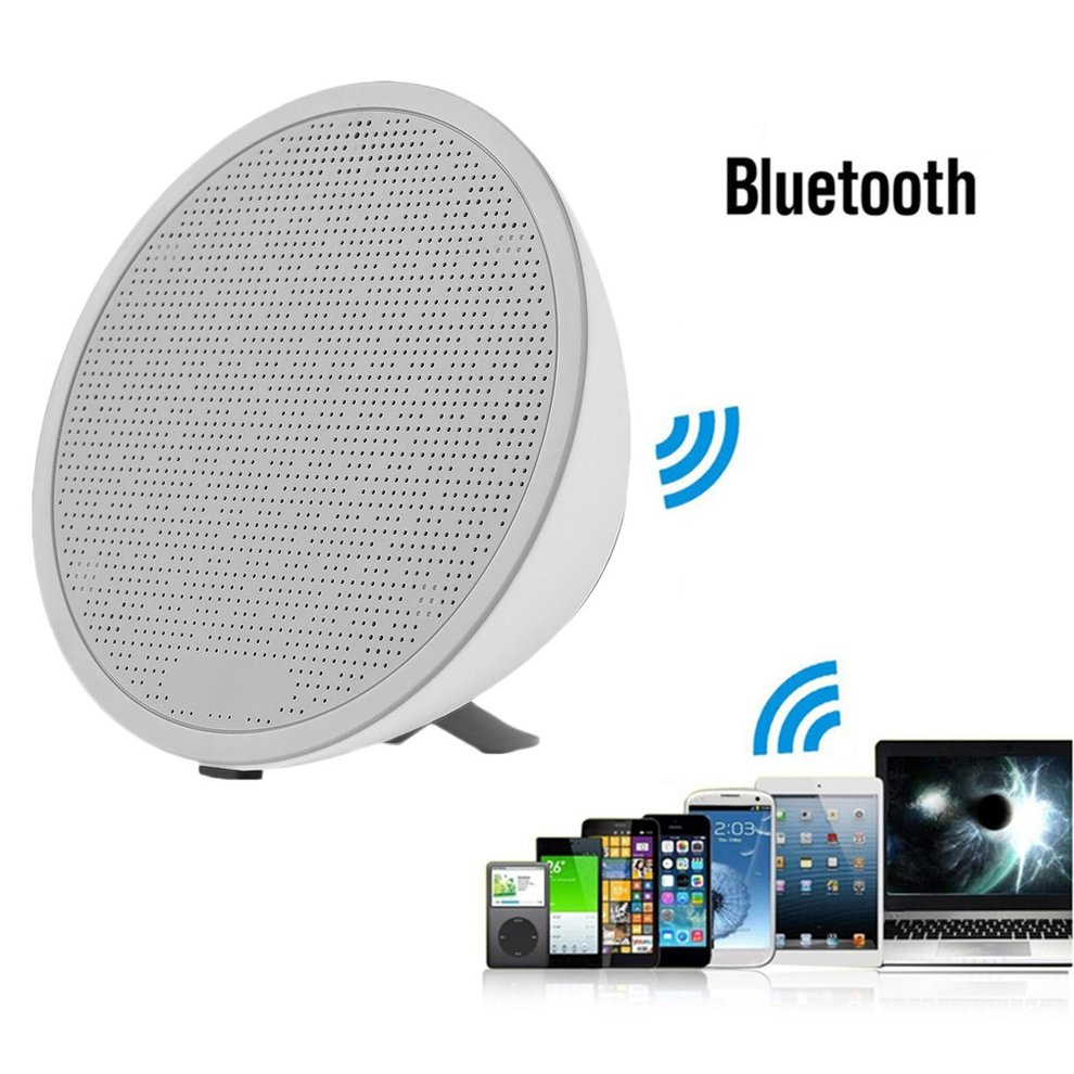 Stylish Wireless Bluetooth Speaker Stereo Subwoofer Touch Loudspeaker Support TWS Tandem Music Player Support TF