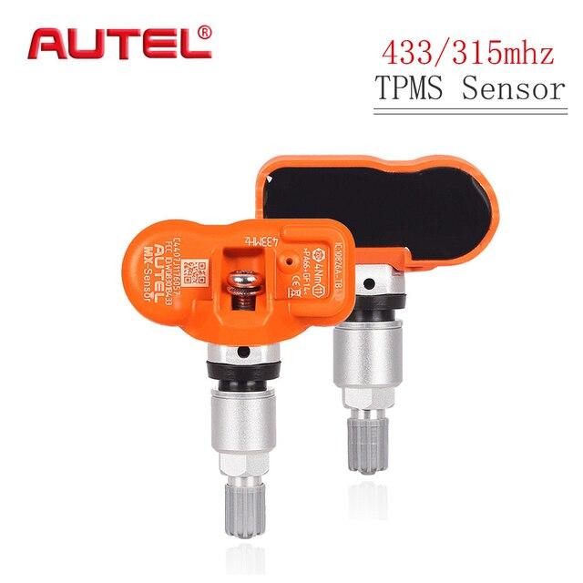 AUTEL TPMS Sensor 433 315 Mhz MX Sensor SensorความดันยางรถOEระดับโปรแกรมSensorยางความดัน