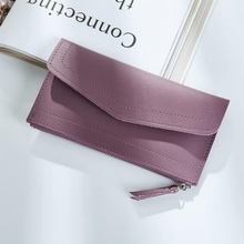 Women Wallet Purse Female Long Wallets Vintage Pouch Handbag For Women Coin Purses Solid Card Holder Portefeuille Femme