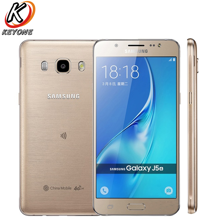 New Original Samsung 2016 GALAXY J5 J5108 Mobile Phone 5 2 2GB RAM 16GB ROM Snapdragon