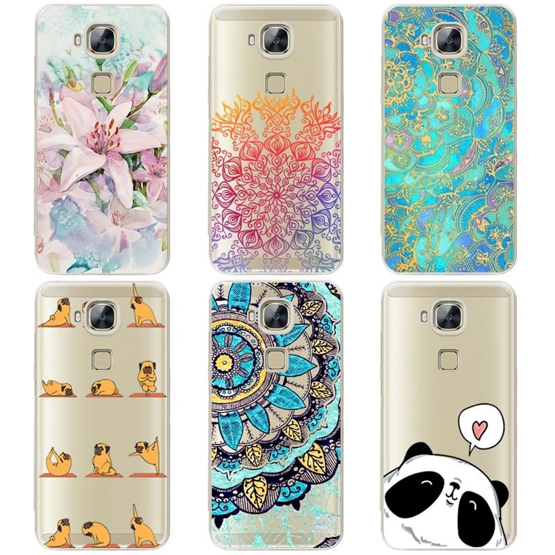 Case For Huawei Nova Plus Case Cover Silicone TPU Soft Back Cover ...