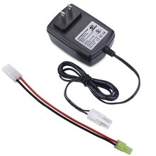 Check Price Melasta RC Charger for NiMH / NiCd Battery pack 6.0V-7.2V 5S 6S with Male Tamiya and Mini Male Tamiya Connector