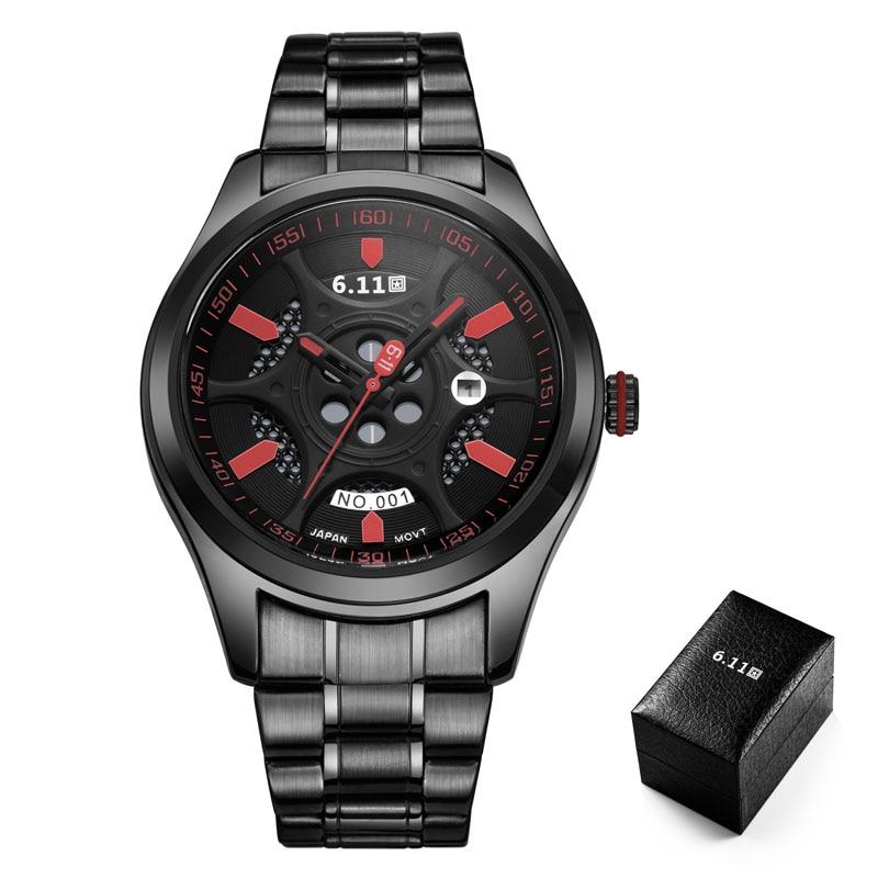 TIMI 2018 Men Fashion Solar-powered watch Full Steel Clock Army Military Outdoor Quartz Wrist Watch Casual Sports watches NO.001