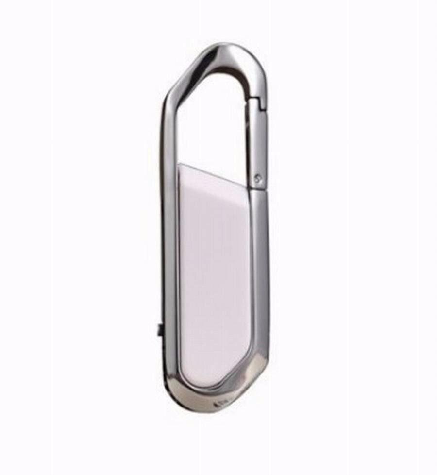 Купить с кэшбэком Metal Carabiner leather usb flash drive pen drive 64GB 8GB 16GB 32GB 128GB pendrive real capacity memory stick disk free shippin