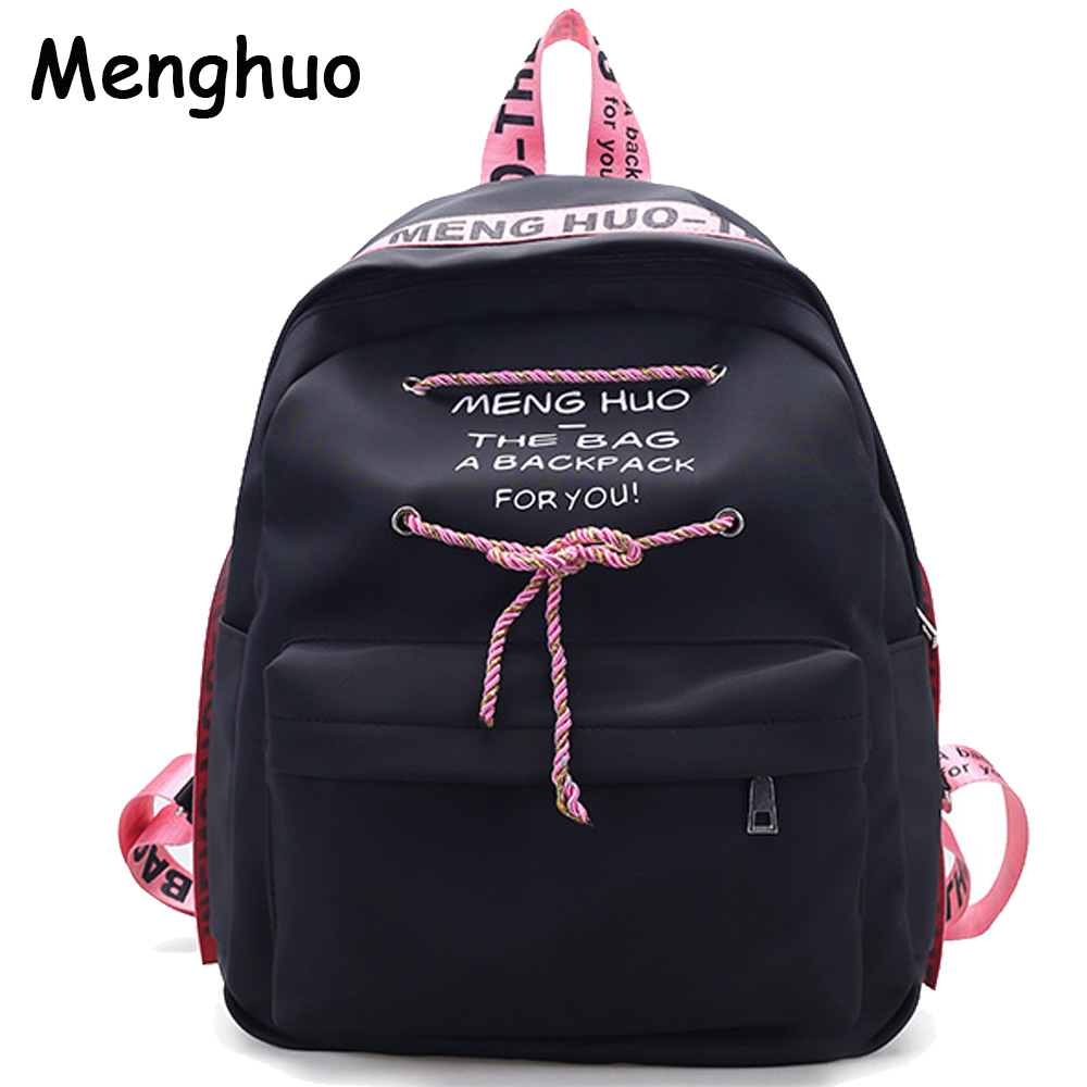 Divat egyszerű levél hátizsák kiváló minőségű kötél iskolai laptop hátizsák női utazási táska alkalmi stachels hátizsák Mochila