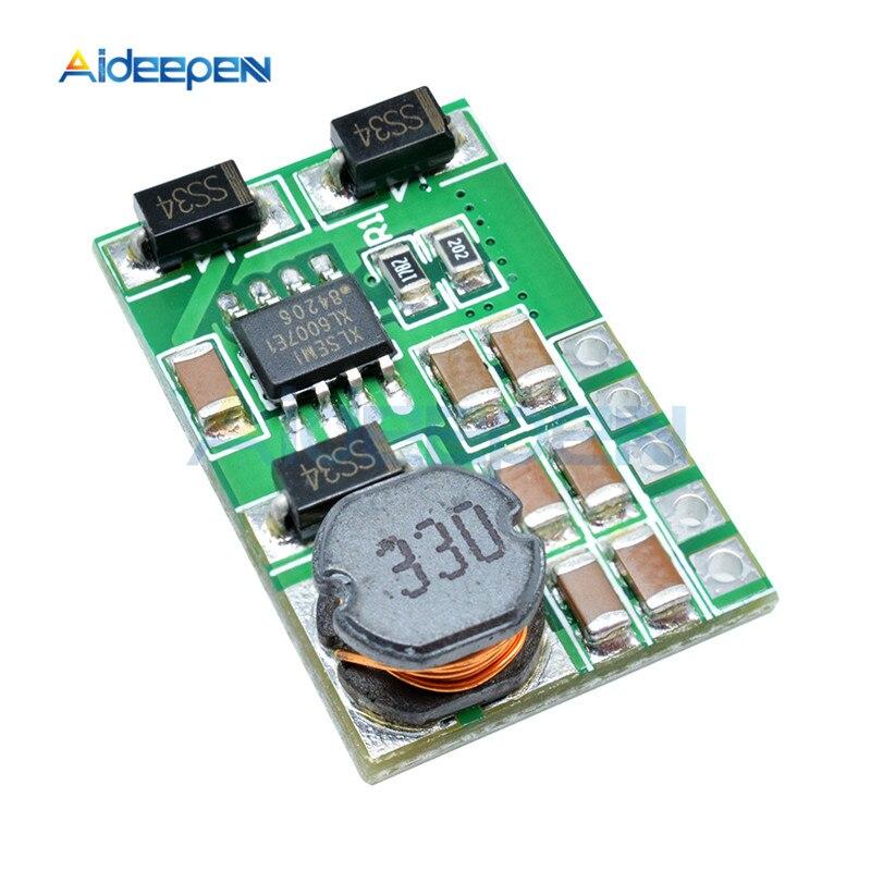 3 V-18 V to+-5V 6V 9V 12V 15V 24V 1.8A 2A положительный и отрицательный двойной Вт конвертер постоянного/переменного тока, повышающий наддува модуль Плата регулятора - Цвет: 6v without pin