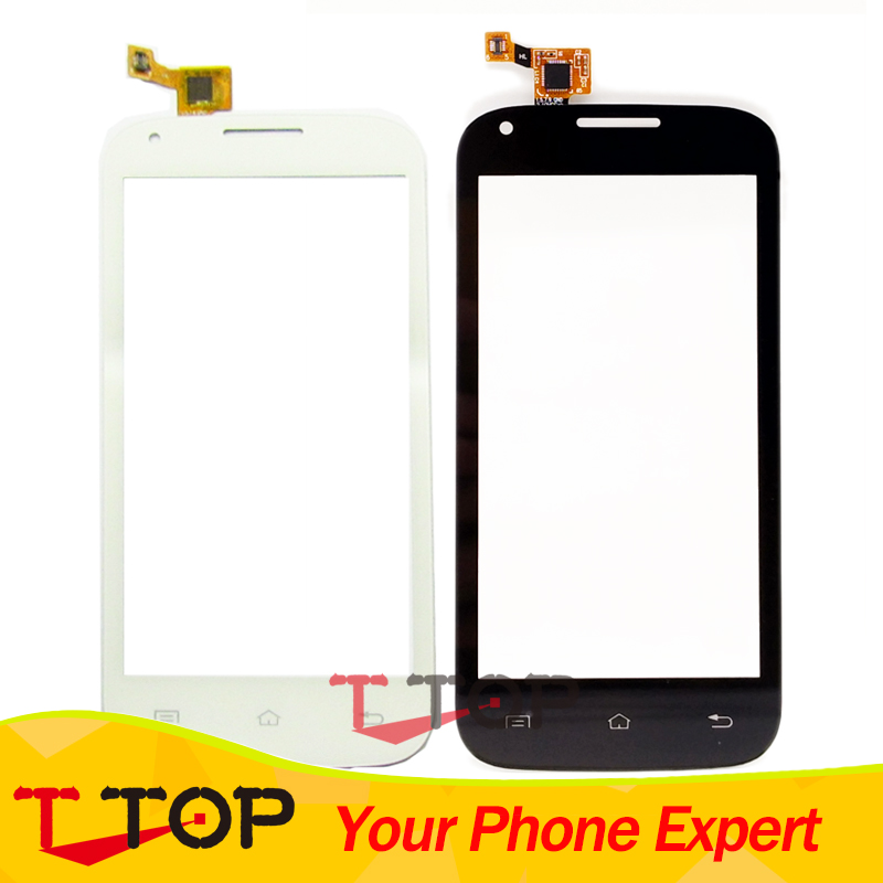 4.5 IQ 4406 Touch Screen Digitizer For Fly IQ4406 Touchscreen Front Glass Panel Sensor Replacement Part 1PC/Lot