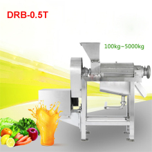 110V / 220V 0.5 T / H High Industrial Capacity Juicer Extractor / Industrial Machine Extractor Juice DRB-0.5T 400r / min juicer