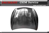 Carro - denominar Auto acessórios de fibra de carbono CF Hood com aberturas Fit para 2013 - 2015 Q50 & Q50S GTR - estilo capa Bonnet