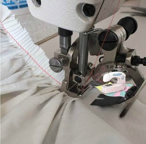 Image 5 - ماكينة خياطة صناعية أجزاء جهاز الطية التجاعيد قطعة قدم الضغط في ماكينة الخياطة