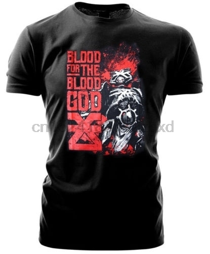 US $12 99 |Warhammer 40k Forgeworld Event Only Mens Short Sleeve T Shirt  Khorne Blood For The Blood God-in T-Shirts from Men's Clothing on