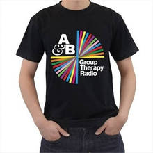 New T Shirts Unisex Funny Tops Tee Short Sleeve Broadcloth Above & Beyond Crew Neck Mens T Shirt цена 2017