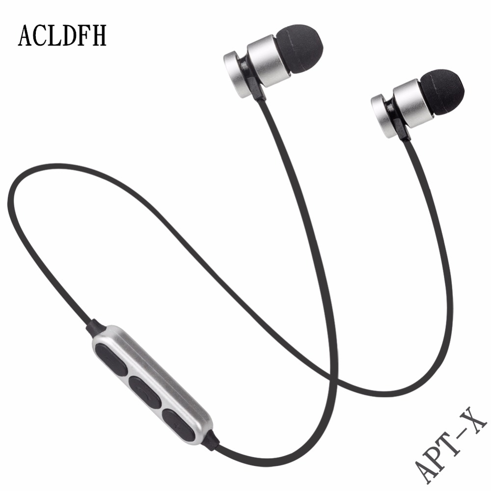 Bluetooth Earphone Wireless earbuds Bluetooth Headset bass apt-x SweatProof Magnetic Sport Stereo Earpiece for Mobile Phone game