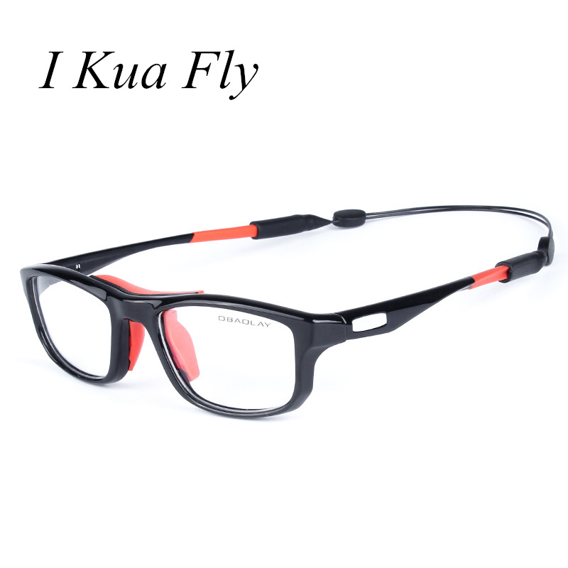 New Basketball Glasses Men Prescription Glasses Frame Oversized Black Square Driver Sport Glasses Women MTB Cycling Z4