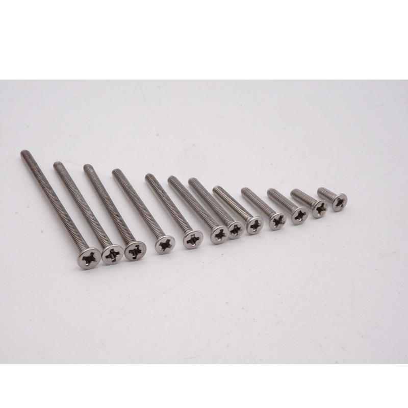 MINI 4WD self-made tamiya parts stainless steel M2 flat screws siver from 6mm to 40mm 10 pcs price MJ MODEL