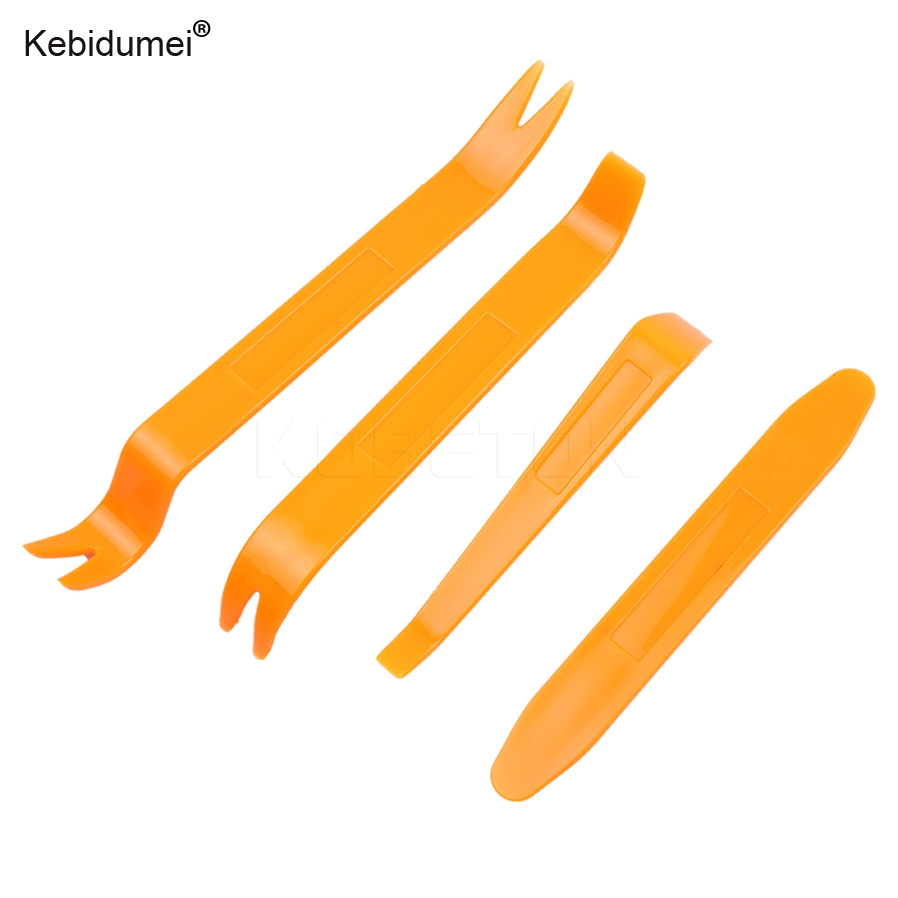kebidumei Car Radio Door Clip Panel Trim Dash Car Repair Disassembled Audio Removal Installer Pry Tool