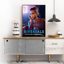 Lrf Lili Reinhart On Riverdale Canvas Painting Prints Bedroom Home Decoration Artwork Modern Wall Art Posters Pictures