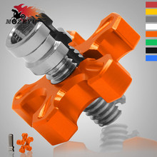 M8*1.25 M10*1.25 Universal Motorcycle CNC Aluminum Clutch Cable Wire Adjuster For KTM DUKE 390 125 Duke ABS RC 125/200/390