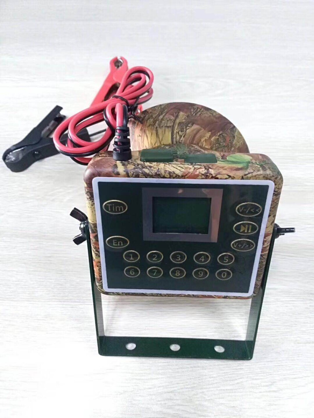 Support Arabic Russian Italian 60W speaker Hunting Bird Sound Mp3 player goose duck Crow sounds caller hunting decoy with timer цена