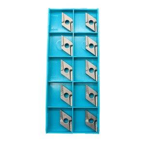 Image 3 - 10 pces dnmg150404 r vf ct3000 ferramentas de torneamento externo cermet grau carboneto inserção torno ferramenta tokarnyy torneamento inserção