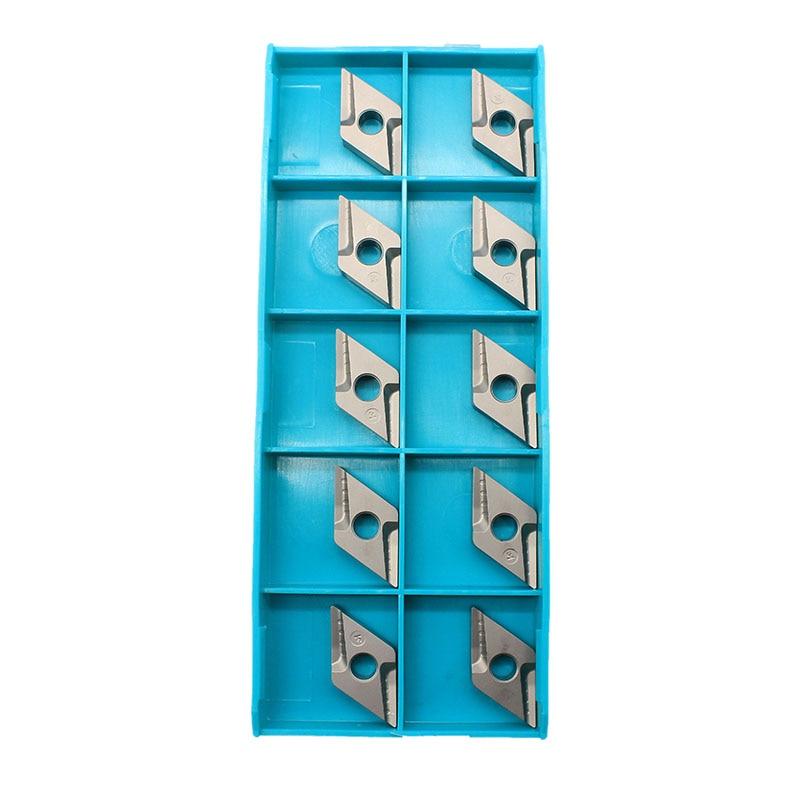 10 PZ DNMG150404 R VF CT3000 Utensili per tornitura esterna Cermet - Macchine utensili e accessori - Fotografia 3