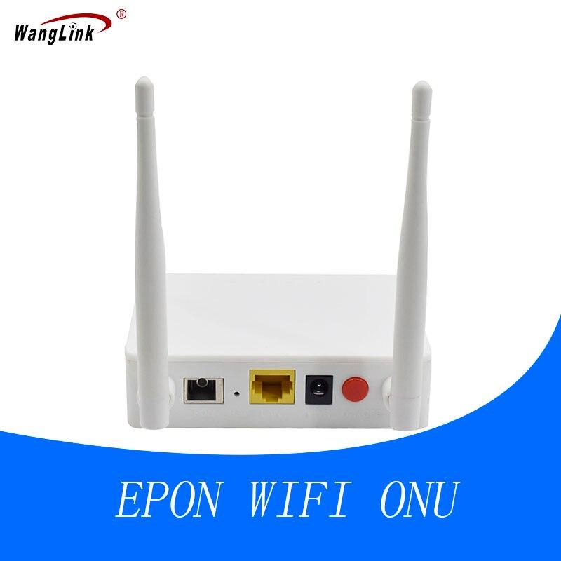 Wanglink Wireless WiFi Router EPON ONU with WiFi 2 Antennas Gigabit 1 port onu