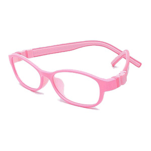 Image 5 - ราคาโรงงานแฟชั่นเด็กซิลิโคนกรอบแว่นตาแสงสกรูไม่มีแตกชายหญิงที่มีห่วงโซ่ขนาด48 15 130 Y1072