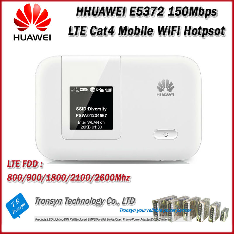Hot Sale Brand New Original Unlock LTE-FDD 150Mbps HUAWEI E5372 4G LTE Cat4 Mobile WiFi Hotpost And 4G LTE WiFi Router hot sale original unlock lte fdd 150mbps huawei e5577 4g lte mobile wifi router support lte fdd and tdd network
