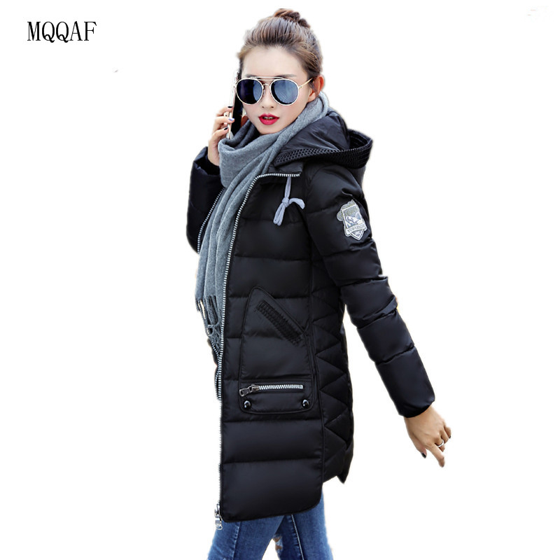 b14d362e369fa Big Size 7XL Winter Jacket Women 2017 New Europe Style Hooded Slim Medium  Long Winter Plus Size Parkas Lady Top Coat Hot-in Parkas from Women s  Clothing on ...