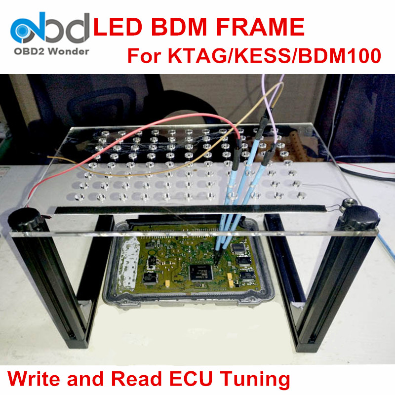 Newly LED BDM FRAME Write And Read For KESS KTAG/K tag FG TECH ...