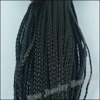 1 バンドル diy ジュエリー アクセサリー 5 ミリメートル広い pu黒模造革コード ブレスレット編組ロープ ネックレス accessorie の 100 メートル