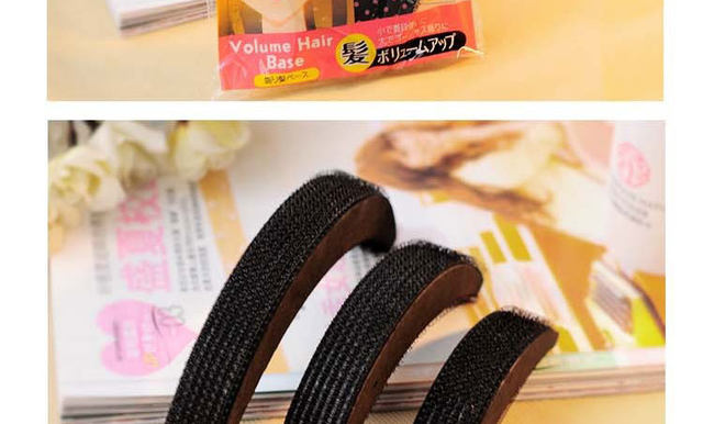 2017 New Fashion Hair Puff Paste Heightening Princess Hairstyle Device Styling Tools for Women Hair Accessories 3 sizesset  (9)