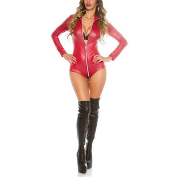 Pole Dancing Latex Suit 1