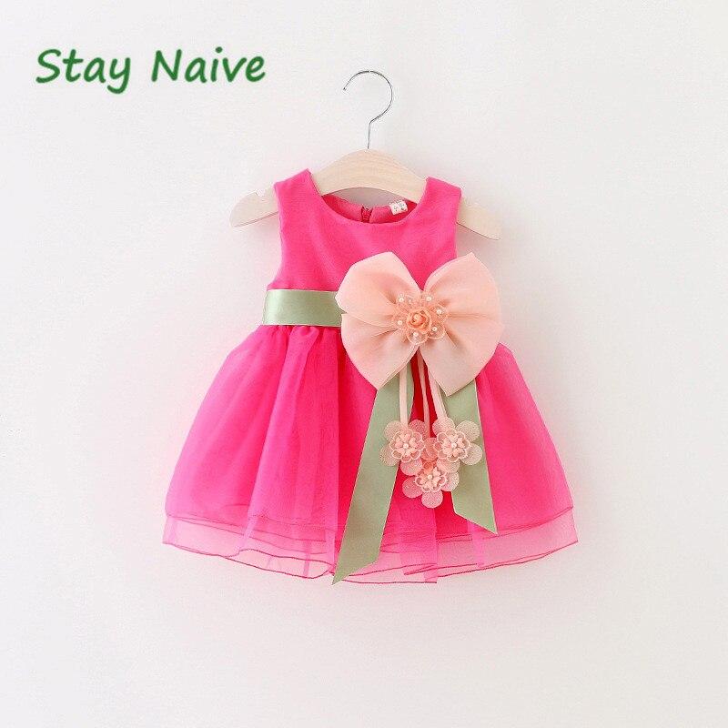 La última versión del vestido del tutú del bebé niños lindo Encaje ...