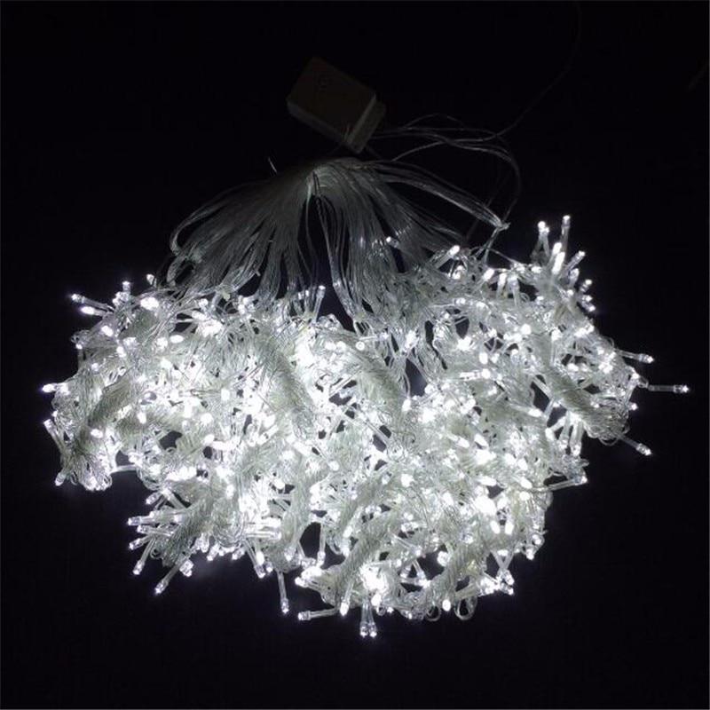 6 M X 3 M 600 LED Kerst Xmas String Fairy Bruiloft Icicle Gordijn - Vakantie verlichting - Foto 3