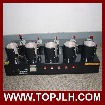 heat press machine for 5 mugs