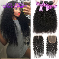 Top Cambodian Curly Virgin Hair With Closure 8A Cambodian Virgin Hair With Lace Closure 100% Human Hair Weaving Buy Hair Online