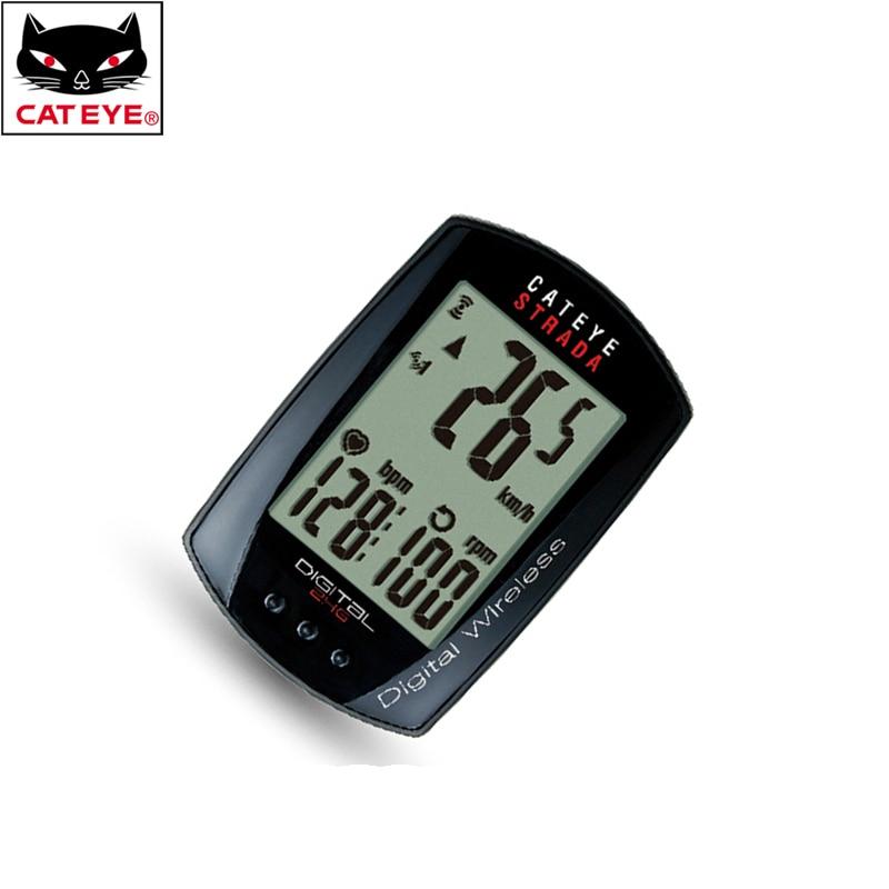 CATEYE Waterproof Wireless Bike Bicycle Cycling Computer Odometer Speedometer Multifunction With 10 Functions