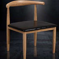 PU wood ivory cafe chair brown coffee chair black cafe chairs free shipping