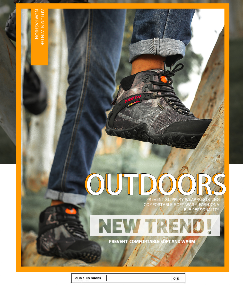 Outdoor Camouflage Tactical Sport Men\`s Shoes (2)