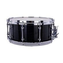 """Ударные музыкальные инструменты Snare Drum 1""""* 6,5"""" черный Рисунок полиэстер барабанная головка с барабанными палочками"""