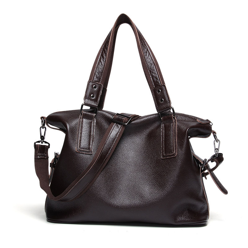 Genuine Leather Handbag 2019 New Fashion Trend Ladies Casual Bag Ladies Portable Large Capacity Bag Shoulder Messenger BagGenuine Leather Handbag 2019 New Fashion Trend Ladies Casual Bag Ladies Portable Large Capacity Bag Shoulder Messenger Bag