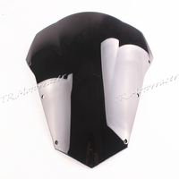 Black Motorcycle Accessories Windshield Windscreen For Yamaha FZ6 2003 2004 2005 06 07 2008 ABS Plastic