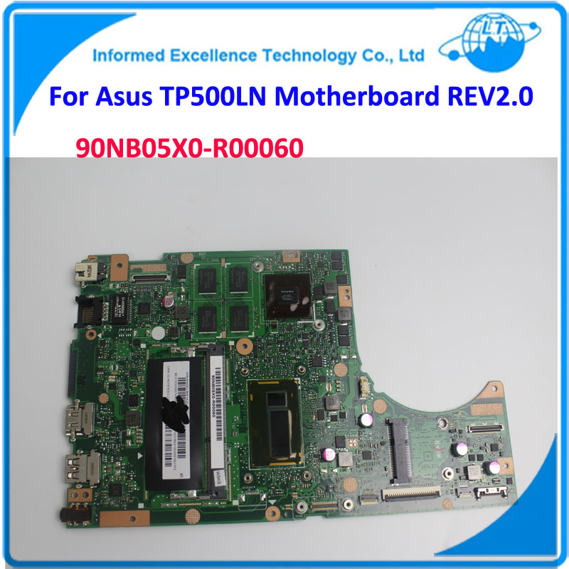 Laptop Motherboard for ASUS TP500LN REV2.0 NVIDIA N15S-GT-S-A2 Fully Tested Working Well Non-Integrated 4 Video Cards  Mainboard laptop motherboard for asus n43sl n43sl rev 2 0 hm65 nvidia n12p gt a1 ddr3